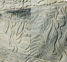 Chinese marble can be easily carved and made in different designs, it could make the wall look fluent.