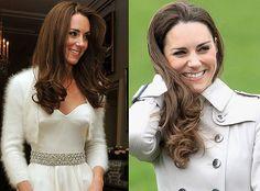 Cabelo da duquesa Kate Middleton: | Sublime Store