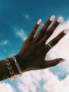 10 Summer Manicure Ideas To Try This Season! 10 Summer Manicure Ideas To Try This Season! Cute Acrylic Nails, Cute Nails, Pretty Nails, Tumblr Acrylic Nails, Acrylic Gel, Nail Polish, Gel Nails, Coffin Nails, Nails Ideias