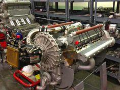 Novi V-8 Paxton supercharged, dual plugs, race engine...