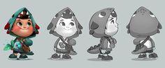 Hisense - Character design on Behance
