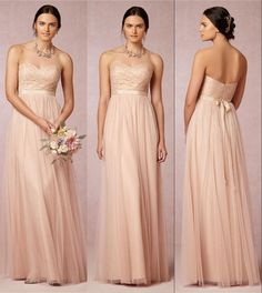 Wholesale Bridesmaid Dress - Buy Lace Bridesmaid Dresses Peach Coral Prom Evening Party Gowns 2015 Maid of Honor Formal Sexy Cheap Backless Bridesmaids Dress Long Vintage, $112.41   DHgate