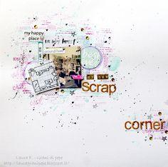 Grani di pepe: My new scrap corner - Layout