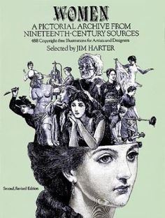 Women: A Pictorial Archive from Nineteenth-century Sources Picture Archives S.: Amazon.co.uk: Jim Harter: Books