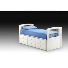 Hornblower Cabin Bed White