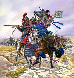 """""""The Battle of Dara, 530 AD"""", Igor Dzis"""
