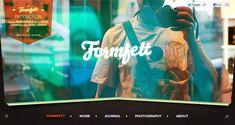 formfett.net Header design inspiration