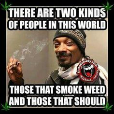 There are two kinds of people in this world. Those that smoke weed and those tha Weed Quotes, Weed Memes, Weed Humor, Funny Quotes, Funny Memes, Funny Weed Jokes, 420 Quotes, Stoner Quotes, Stoner Humor