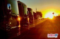 Sunrise at La Mesa RV in Phoenix, Arizona!
