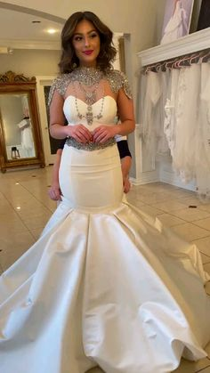 Fancy Wedding Dresses, Evening Dresses For Weddings, Bridal Dresses, Bridesmaid Dresses, Bling Wedding, Formal Dresses, African Lace Dresses, Latest African Fashion Dresses, Dinner Gowns