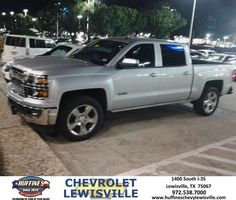 https://flic.kr/p/AvUu1G | Happy Anniversary to Michael  on your #Chevrolet #Silverado 1500 from Steven Lewis at Huffines Chevrolet Lewisville | deliverymaxx.com/DealerReviews.aspx?DealerCode=UBM1