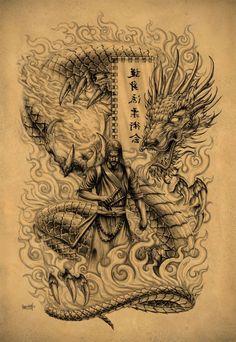 ... on Pinterest | Japanese dragon tattoos Samurai and Dragon tattoos