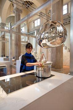 Contemporary kitchen by Tom Dixon at Salone del Mobile 2016