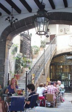 Cafe society in Palma, Majorca, a gem of an island off mainland Spain