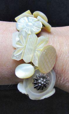 button bracelet.