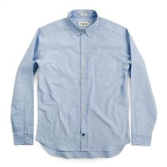 f96a45c61806e7 The Jack in Blue Everyday Oxford #Mensaccessories Taylor Stitch, Denim  Button Up, Button