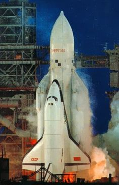 The Russian space shuttle. It proved to expensive and complicated to actually use.