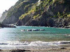The Coastline of Cinque Terre - this image taken in the village of Vernazza, Liguria.