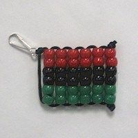 Celebrate Kwanzaa with your own Beaded Kwanzaa Flag created by the FreeKidsCrafts team. Girl Scout Swap, Girl Scouts, Kwanzaa, Flag Pins, Glitter Ornaments, Thinking Day, Crafts For Boys, Camping Crafts, Preschool Crafts