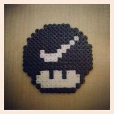 Nike Mushroom hama beads by gamegt_bcn