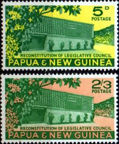 Papua New Guinea 1961 Council Chamber SG 26 Fine Mint Scott 148 Other Papua New Guinea Stamps HERE!