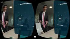 VR interactive video