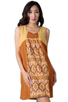 tenun dress from zalora