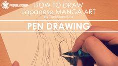 ✔ Pen Drawing *Detail up #inktober2017 | How to draw Manga Art 2017.10.05