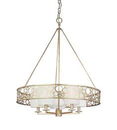 Troy Lighting Aqua 5 Light Chandelier in Silver Gold F1905SG #lighting