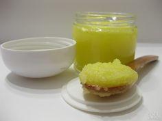 Exfoliante corporal de miel y limón, sugar scrub | Oh!Jabon - Jabones artesanales 100% naturales de aceite de oliva