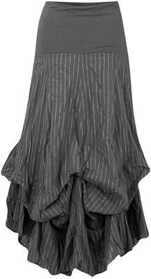 Charcoal hitchy maxi skirt