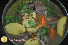 PATY'SKITCHEN: SUP TULANG DAGING ALA THAI / THAI BEEF BONE SOUP