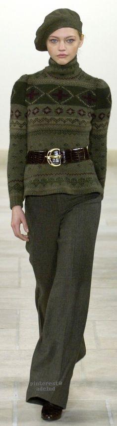 Ralph Lauren, Autumn/Winter 2006, Ready to Wear