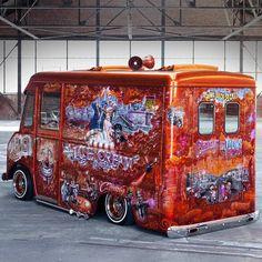 Skid Row Motors 1963 Ice Cream truck!