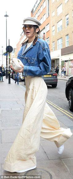 5ce0d81a104 Kendall Jenner dazzles in metallic velvet mini dress during LFW