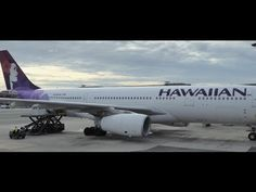 Decolando de Honolulu - HNL JFK - A330 Hawaiian Airlines