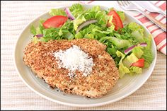 Hungry Girl's Parmesan-Crusted Chicken