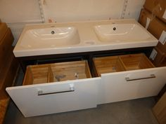 Ikea Double Sink Possibility For Children S Bathroom