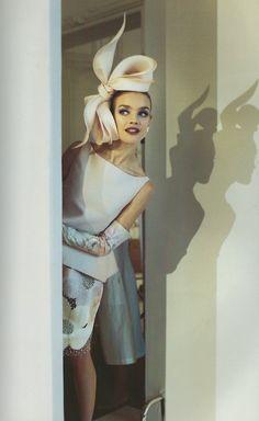 Natalia Vodianova OR Barbara Palvin? Natalia Vodianova, Foto Fashion, Fashion Models, Style Fashion, High Fashion, Fashion Beauty, Magazine Mode, Maxi Robes, Mode Vintage