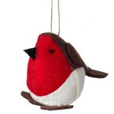 Handmade Christmas Robin, a tree decoration from Poundland. Christmas Themes, Christmas Tree Decorations, Christmas Ornaments, Holiday Decor, Handmade Christmas, Vintage Christmas, Twas The Night, Vintage Theme, The Night Before Christmas