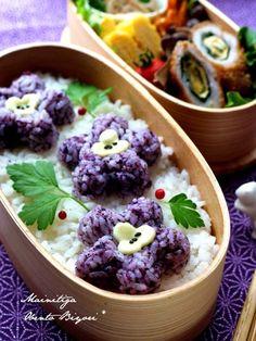「お花deコラボ」わっぱでお花のお弁当~パパのお弁当~ の画像 あ~るママオフィシャルブログ「毎日がお弁当日和♪」Powered by Ameba