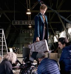Behind the scenes from Fantastic Beasts. Less than a week until the DVD/Blu-Ray release!!