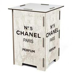 Banco Modular Chanel Nº 5 - R$ 140,00