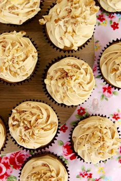Coffee and Walnut Cupcakes! - Jane's Patisserie