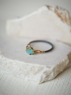 Free People Variance Objects Raw Opal Ring, �268.00