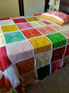 Crochet Bedspread Pattern, Bed Spreads, Quilts, Blanket, Handmade Crafts, Bed Covers, Hipster Stuff, Quilt Sets, Blankets