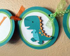 Bandera de dinosaurio dinosaurio cumpleaños partido por 3FeetTall