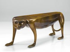 Judy Kensley McKie - Baboon Bench, 1999 Not Lalanne ~ definitely a First Cousin