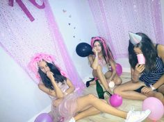 Pity party Teen idle aesthetic / Sweet sixteen / birthday / pink