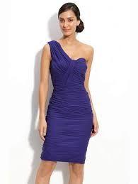 Resultado de imagen para vestidos de coctel cortos azules